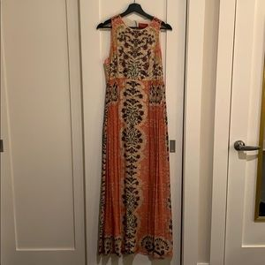 Beaded maxi dress from Anthropologie